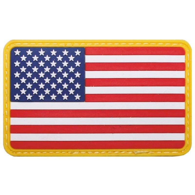 Takjakinnitusega lipu embleem - USA