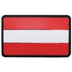 Takjakinnitusega lipu embleem - Austria