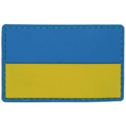 Takjakinnitusega lipu embleem - Ukraina