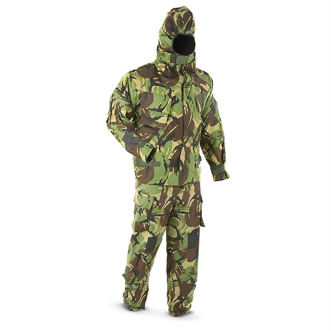British NBC suit (jacket/pants) DPM camo - Militaarpood ja