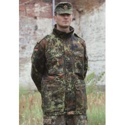 Немецкая подлитая модифицированная куртка Smock, flecktarn