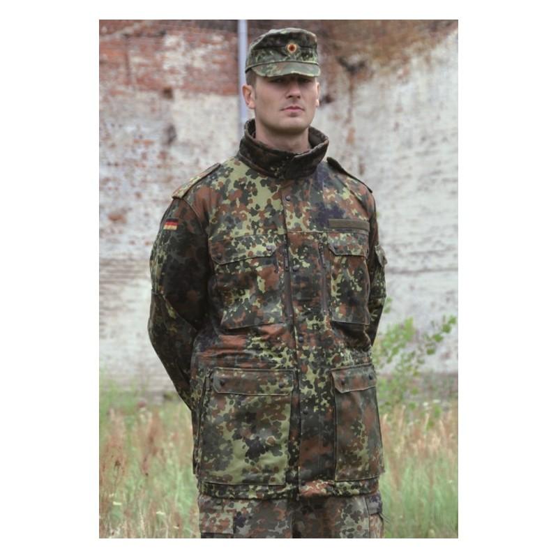 German genuine modified Smock jacket, flecktarn