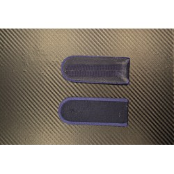 Pagunid - Tumesinise äärega sinisel taustal