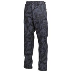 U.S. BDU välipüksid (field pants), night camo