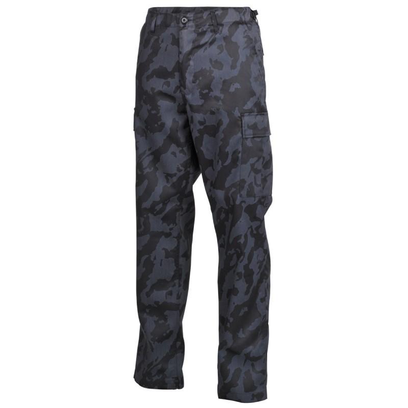 US BDU Field Pants, night camo