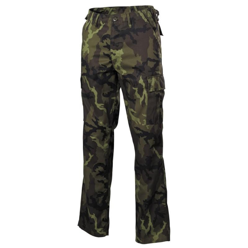US BDU Field Pants, M 95 CZ camo