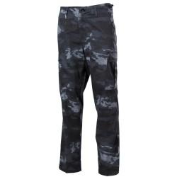 U.S. BDU välipüksid (field pants), HDT camo grey