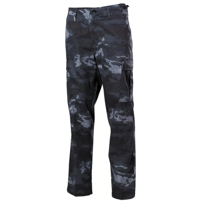 US BDU Field Pants, HDT camo grey