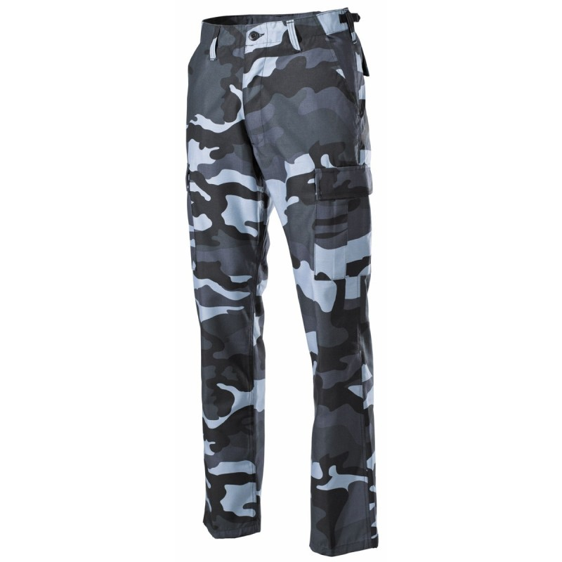 U.S. BDU välipüksid (field pants), Skyblue