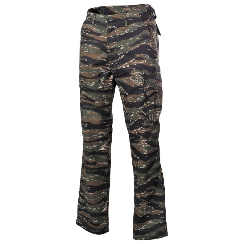 U.S. BDU välipüksid (field pants), tiger stripe
