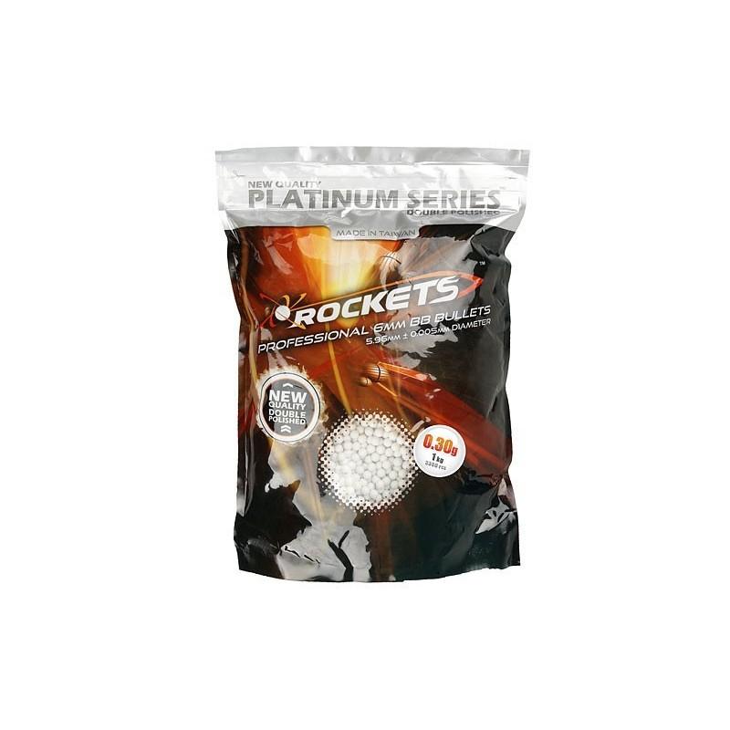 Rockets Platinum Series 0,30g BB pellets - 1kg