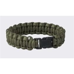 Survival Bracelet Helikon Paracord 550, olive green