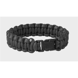 Survival Bracelet Helikon Paracord 550, black