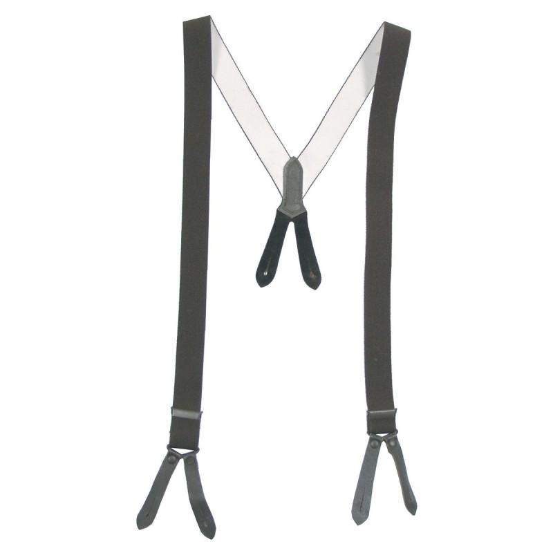 Suspenders for German BW pants, 110cm, od green
