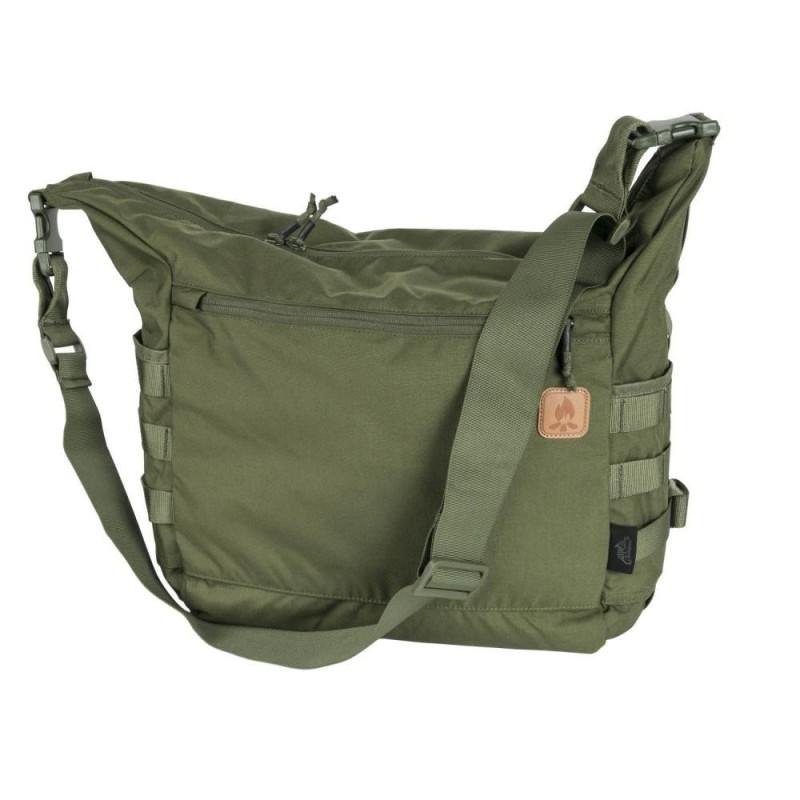 Helikon Bushcraft Satchel bag, cordura, olive green