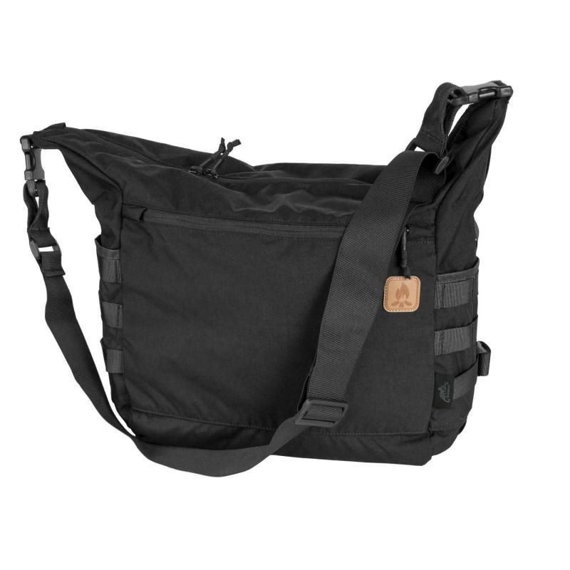 Helikon Bushcraft Satchel bag, cordura, black