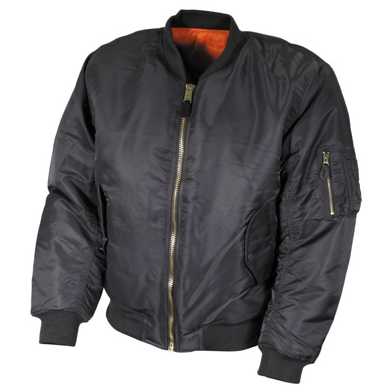 US Flight Jacket, MA1, Mod., urban grey