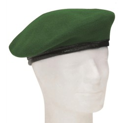 Немецкий подлинный берет, зеленый