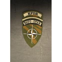 "Riidest embleem, NATO-OTAN ""KFOR"", camo"