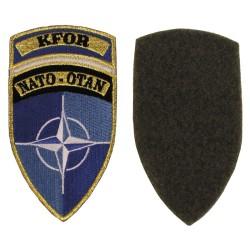 "Riidest embleem, NATO-OTAN ""KFOR"", värviline"