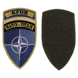 "Textile sign, NATO-OTAN ""KFOR"""