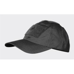 Helikon BBC cap, nokamüts takjakinnitustega, must