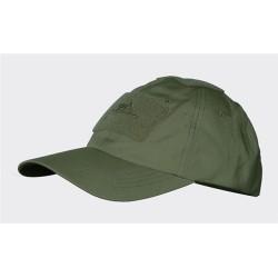 Helikon BBC cap, nokamüts takjakinnitustega, oliivroheline
