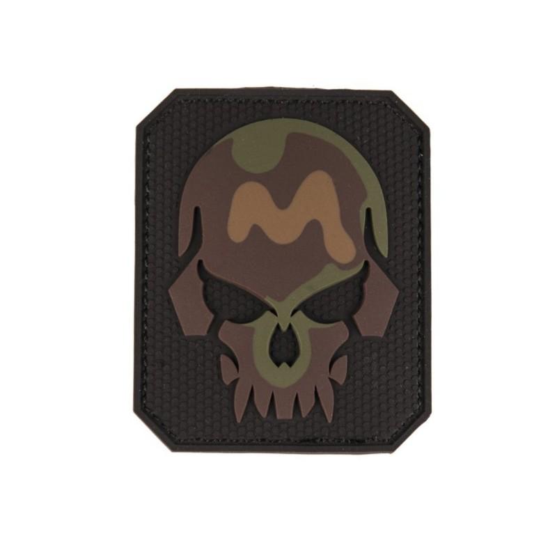 "Velcro märk Skull - pealuu"" 3D, camo"