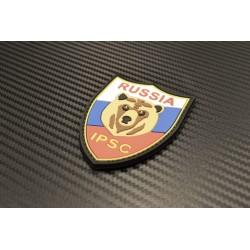 "Velcro märk ""Russia IPSC"" 3D"