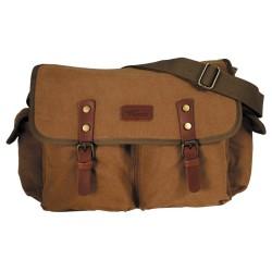 Стильная сумка «PT», коричневый