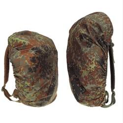 Rucksack or backpack cover, flecktarn