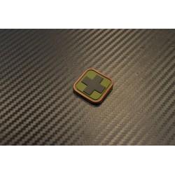 """Velcro märk """"Medic square"""" 3D, 7"""