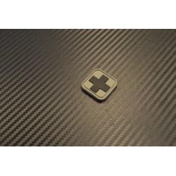 """Velcro märk """"Medic square"""" 3D, 5"""