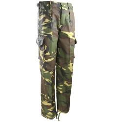 Kids Military style pants, DPM camo