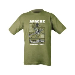 "T-shirt - ""Apache"", olive green"