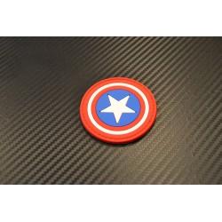 "Velcro sign, ""Captain America"" 3D"