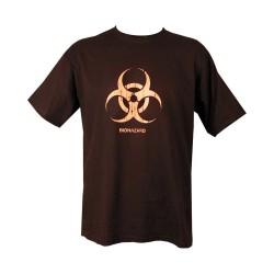 "T-shirt - ""Biohazard"", black"