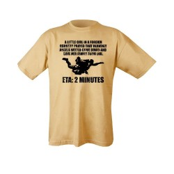 "T-shirt - ""Heavenly Angels"", sand"