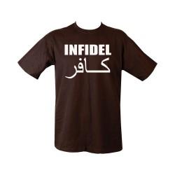 "T-shirt - ""Infidel"", black"