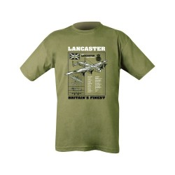 "T-shirt - ""Lancaster"", olive green"