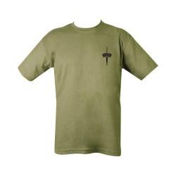 "T-shirt - ""Royal Marines Commando"", olive green"