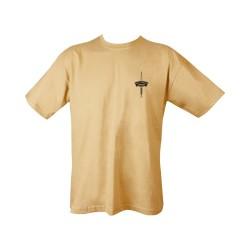 "T-shirt - ""Royal Marines Commando"", Sand"