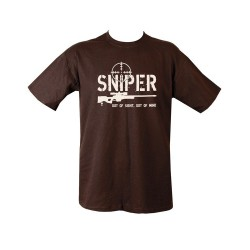 "T-shirt - ""Sniper"", black"