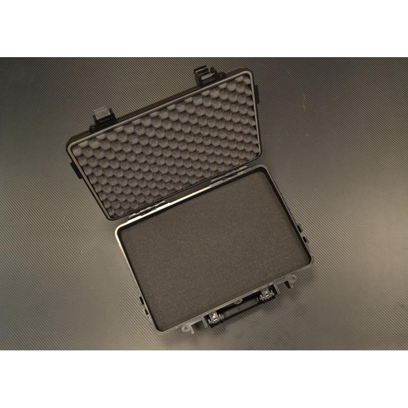 Коробка, пластик, водонепроницаемый, 39x29x12 см, черная