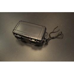 Водонепроницаемая коробка, пластик 20 x 11,5 x 8,5 cm, черный