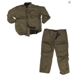 США химической защитный костюм (куртка / брюки), зеленый