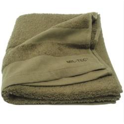 Mil-tec Terry towel, rätik 110x50cm, oliivroheline