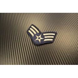 """Riidest embleem, """"(USAF) SRA Senior Airman"""""""