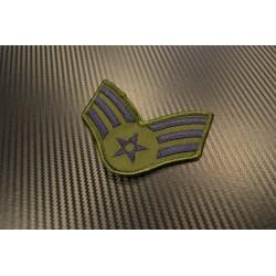 "Riidest embleem, ""(ABU) SRA Senior Airman"", suur"