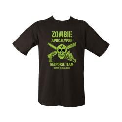 "T-shirt - ""Zombie Apocalypse"", black"
